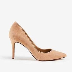 NIB Ann Taylor 'Luisa' Quilted Suede Pump Size 8.5